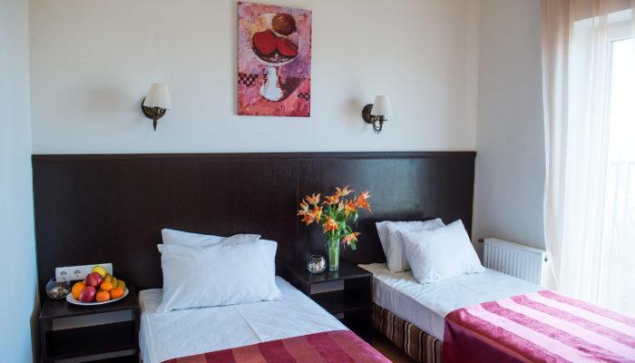 Номер Двухместный Комфорт с раздельными кроватями (1 категория)