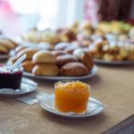 джем и заправки для сладких блюд на шведском столе